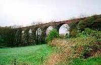 Looking north at the Glenluce Viaduct.<br><br>[Ewan Crawford&nbsp;//]