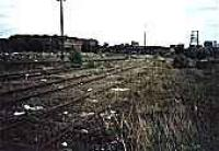 Looking east over the former marshalling yard at Rothesay Dock.<br><br>[Ewan Crawford&nbsp;//]