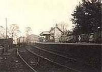Looking east at Strathblane station.<br><br>[G.E. Langmuir&nbsp;//]