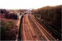 Looking east at Uddingston Junction.<br><br>[Ewan Crawford&nbsp;//]