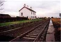 Looking east at the former Watten station.<br><br>[Ewan Crawford&nbsp;//]