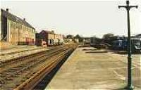 Looking east out of Brechin station.<br><br>[Ewan Crawford&nbsp;//]