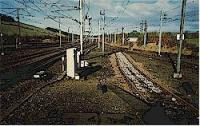 Looking north from the bay platform at the former Beattock station.<br><br>[Ewan Crawford&nbsp;//]