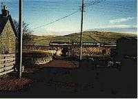Looking west at Crawford, class 86 and train heading south.<br><br>[Ewan Crawford&nbsp;//]