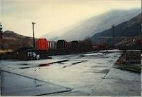 View looking east over the former Crianlarich Lower timber depot which was retained after closure of the line between Crianlarich and Dunblane.<br><br>[Ewan Crawford&nbsp;//]