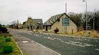View looking north at the former Auchnagatt station from the roadside.<br><br>[Ewan Crawford&nbsp;//]