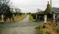 View looking east at a former level crossing to the east of Inverugie.<br><br>[Ewan Crawford&nbsp;//]