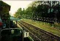 View looking west at Bearsden station.<br><br>[Ewan Crawford&nbsp;//]