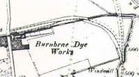 Ordnance Survey map of Burnbrae branch before doubling of the Milngavie line.<br><br>[Ewan Crawford&nbsp;//]