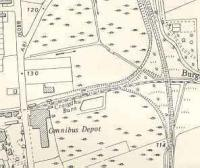 Ordnance Survey map of Burnbrae branch after doubling of the Milngavie line.<br><br>[Ewan Crawford&nbsp;//]