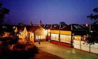 View looking south at Milngavie station at night.<br><br>[Ewan Crawford&nbsp;//]