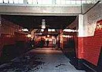 View looking south in the Paisley Gilmour Street tunnel between platforms.<br><br>[Ewan Crawford&nbsp;//]