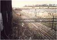 Just north of Knightswood South Junction, view looking north where the Knightswood branch branched off to the left. Class 314 heading into Knightswood Tunnel.<br><br>[Ewan Crawford&nbsp;//]