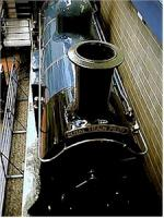 Caledonian 123 in the Glasgow Museum of Transport.<br><br>[Ewan Crawford&nbsp;//]