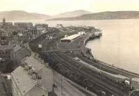 Looking west over Gourock station.<br><br>[James Crawford&nbsp;//]