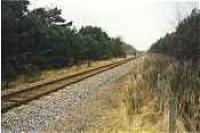 Looking west at the former Cairnie Junction station.<br><br>[Ewan Crawford&nbsp;//]
