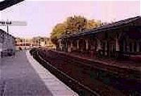 Looking south at Huntly station.<br><br>[Ewan Crawford&nbsp;//]