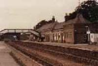 Looking east at Inverurie station.<br><br>[Ewan Crawford&nbsp;//]
