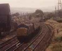 Looking west over Keith Junction with a class 37 passenger train.<br><br>[Ewan Crawford&nbsp;//]