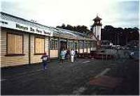 Outside of covered walkway between Wemyss Bay station and pier.<br><br>[Ewan Crawford&nbsp;//]