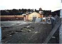 Derelict pierhead at Wemyss Bay, with Wemyss Bay station behind.<br><br>[Ewan Crawford&nbsp;//]