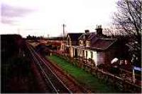 Looking west over the former Alves station.<br><br>[Ewan Crawford&nbsp;//]
