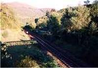 Looking south over the former Killiecrankie station.<br><br>[Ewan Crawford&nbsp;//]
