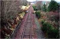 Looking west at the former Bunchrew station.<br><br>[Ewan Crawford&nbsp;//]