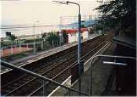 Looking east at Langbank station.<br><br>[Ewan Crawford&nbsp;//]