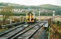 Dingwall Junction viewed from the south. Sprinter train at Junction.<br><br>[Ewan Crawford&nbsp;//]