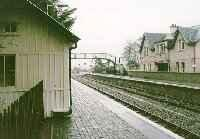 View looking west at Strathcarron station.<br><br>[Ewan Crawford&nbsp;//]