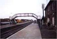 Looking west at Georgemas Junction station.<br><br>[Ewan Crawford&nbsp;//]