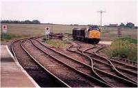 Looking east at Georgemas Junction station.<br><br>[Ewan Crawford&nbsp;//]