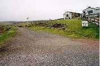 Looking north at the site of the former Wanlockhead station.<br><br>[Ewan Crawford&nbsp;//]