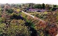 Looking west over the site of the former Ormiston station.<br><br>[Ewan Crawford&nbsp;//]