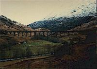 Glenfinnan viaduct viewed from the south.<br><br>[Ewan Crawford&nbsp;//]