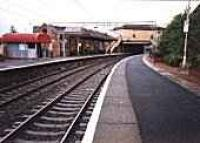Coatbridge Sunnyside station viewed from the east.<br><br>[Ewan Crawford //]