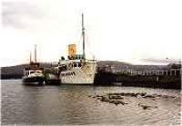 Maid of the Loch and the Countess Fiona at Balloch Pier.<br><br>[Ewan Crawford&nbsp;//]