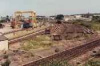 Elgin station yard viewed from the west.<br><br>[Ewan Crawford&nbsp;//]