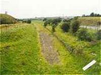 View looking west over the former Commondyke station.<br><br>[Ewan Crawford&nbsp;//]