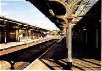 View looking east at Hexham station.<br><br>[Ewan Crawford&nbsp;//]
