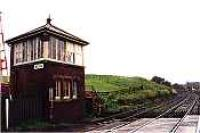 View looking west at Milton signalbox.<br><br>[Ewan Crawford&nbsp;//]