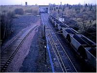 Millerhill turnback siding seen from the road overbridge at the north end of Millerhill yard.<br><br>[Ewan Crawford&nbsp;//]