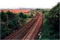 Newhailes Junction, former junction for Musselburgh, viewed from the west.<br><br>[Ewan Crawford&nbsp;//]