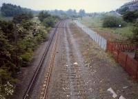 Looking west at the site of Mosspark station.<br><br>[Ewan Crawford&nbsp;//]