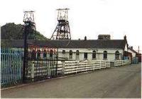 Entrance of Polmaise Colliery viewed from the north.<br><br>[Ewan Crawford&nbsp;//]