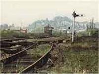 Polmaise Junction and Signalbox viewed from the south.<br><br>[Ewan Crawford&nbsp;//]
