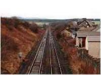 Looking north over Luncarty station.<br><br>[Ewan Crawford&nbsp;//]