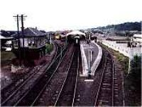 Looking east over the new Boness station.<br><br>[Ewan Crawford&nbsp;//]