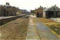 Looking west at the former Dunfermline Upper station.<br><br>[Ewan Crawford&nbsp;//]